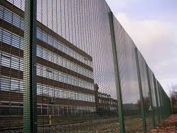 Decorative Security Fencing Anti Climb Mesh Fencing