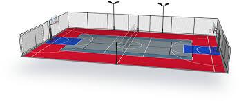 sport court dimensions. Wonderful Dimensions MultiSport Intended Sport Court Dimensions A