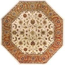 artistic weavers morsse golden beige wool 8 ft octagon area rug