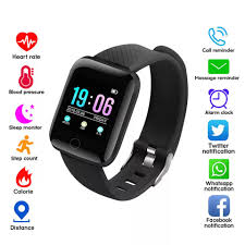 Buy 116Plus <b>Smart</b> Wristband Fitness Activity Tracker Heart Rate ...
