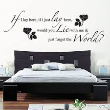 image is loading if i lay here snow patrol wall art  on wall art words with if i lay here snow patrol wall art sticker decal music words