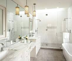 bathroom pendant lighting bathroom pendant lights white bathroom pendant lighting design hanging in front of mirror