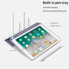 Bao da máy tính bảng có khe giữ bút cho IPAD GEN 8 10.2 AIR 4 10.9 PRO 11  AIR 2 AIR 1 6 5 9.7 AIR 3 10.5 MINI 5 MINI 4 giá cạnh tranh