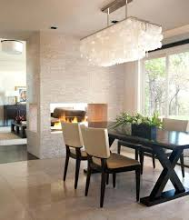 rectangular chandelier dining room modern dining room chandeliers modern size