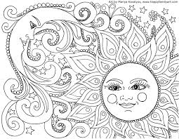coloring pictures of sun 2. Beautiful Coloring Awesome Sun And Moon Coloring Pages For Adults Download 2h  Free Adult  Colouring Throughout Pictures Of 2 O