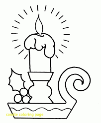 christmas candles coloring pages. Unique Pages Candle Coloring Page With Christmas Candles Pages Big Pre  Regarding Kids On N