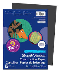 Amazon Com Pacon Sunworks Construction Paper 9 Inches By 12