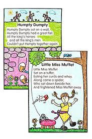 Amazon Com Carson Dellosa Nursery Rhymes Kid Drawn