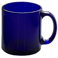 cobalt blue coffee mugs