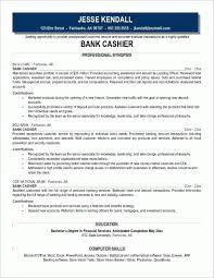 Description Of A Cashier For Resume Gorgeous Sample Cashier Resume All Free Resume
