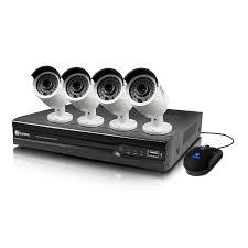 Swann SWNVK-874004-US 8 Channel 4MP 2TB Security System \u0026 4 x Swann: