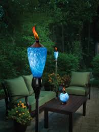 Amazon.com : TIKI 1111356 Lamplight Glowing LED and Flame Torch :  Decorative Lighting :