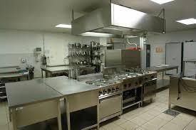 Professional Kitchen Flooring Kitchen Dazzling Industrial Kitchens Design With Cream Flooring