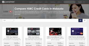 compare hsbc credit cards in msia