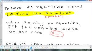 1 1 1 solving one step equations addition subtraction 9 11 17