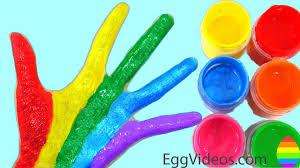 Learn Colors For Kids Children Toddlers Finger Family Nursery