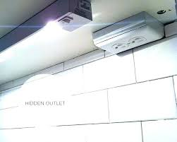 under cabinet lighting with outlet. Under Cabinet Lighting With Integrated Outlets Electrical Plugs Built In Outlet