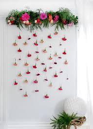 Paper Flower Backdrop Garland Tutorial How To Make A Fresh Flower Garland We Are Scout