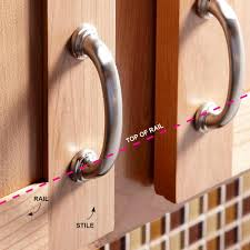 Kitchen Cabinet Hardware Jig How To Install Cabinet Hardware The Family Handyman Advertising