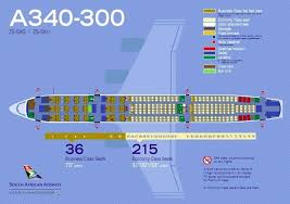South African Airways Fleet Airbus A340 300 Details And