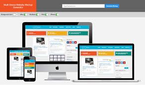 Website Mockup Template Stunning Website Mockup Template Online Popteenus