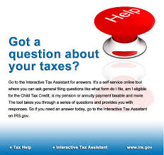 irs interactive tax assistant use the interactive tax assistant self service online tool to ask tax assistant