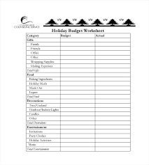 Budget To Actual Template Holiday Spreadsheet Template 2017 Helenamontana Info