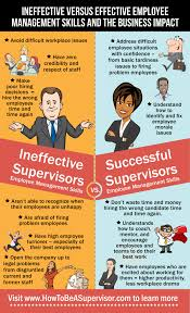 management skills infographic easy small business hr supervisor do s and don ts employee management infograph · learn how to be a good supervisor