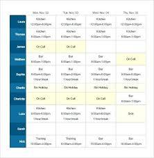 Work Shift Scheduling Weekly Schedule Template Excel Work Calendar Blank Hour 2018
