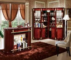 Living Room Corner Bar Wooden Bar Furniture Wooden Corner Cabinet With Wood Bar Unit
