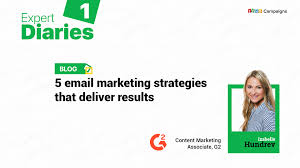 Email Deliver 5 Email Marketing Strategies That Deliver Results Zoho Blog