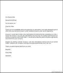 Offer Letter Acceptance Email Template Naomijorge Co