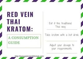 Red Thai Kratom Effects And Dosage Consumption Guide