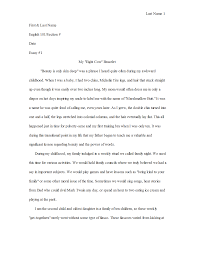 Narrative Essay Example College Thesis Examples For Essays Autobiography Essay Format Also