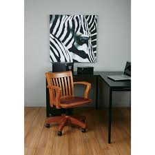 deluxe wooden home office. OSPdesigns Brown Bankers Chair Deluxe Wooden Home Office M