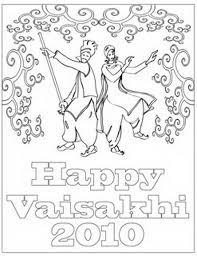 Baisakhi Chart Ideas Baisakhi Coloring Pages Vaisakhi Festival Family Holiday