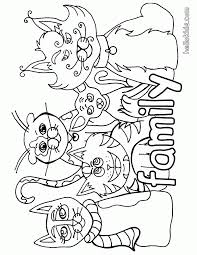 There is a mix of difficulty, from cute pictures for toddlers and preschoolers to more. Animal Family Coloring Page Coloring Home