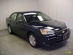 2007 Dark Blue Metallic Chevrolet Malibu LT Sedan #44901577 ...