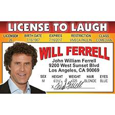 's Home Signs License Nwfid Driver Fun com 's Amazon Will 4 Ferrell PB0qZ7xw
