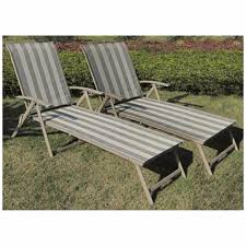 Patio Recliner Chairs Patio Outdoor Lounge Chair Set Of 2 Furniture Pool Lounger