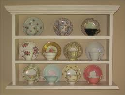 Tea Cup Display Stand Amazing Would Love Something Like This To Display My Grandmother's Teacups