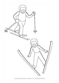 Olympic Coloring Pages Winter Coloring Pages Combined Colouring Page