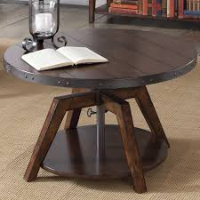 adjule height coffee tables youll love wayfair table ikea darby home ya glass canada uk modern lift top valencia round hardware base convertible dining