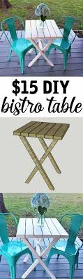 Diy bistro table Fantastic 15 Diy Bistro Table Made From 2x4s Such An Easy Project For Beginner Only Takes About An Hour Pinterest Bistro Table Building Plans for Only 15 Diy Furniture And Home