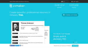 Cv Maker Online Free Access Cvmkr Com Create Professional Resumes Online For