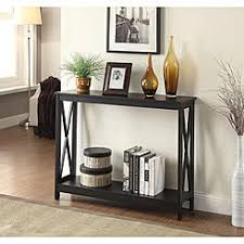 espresso entryway table. Convenience Concepts Oxford Console Table. Black Gray White Espresso Entryway Table