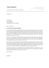 Business Cover Letters Samples Resume Bank