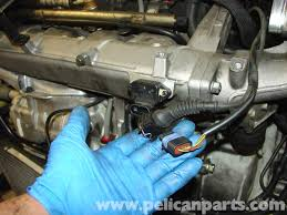 mini cooper r53 water pump replacement (2001 2006) pelican parts 05 Mini Cooper Wiring Diagram disconnect the electrical connector to the t map sensor on the front of the intake 2005 mini cooper wiring diagram