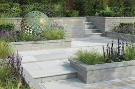 stylish retaining garden walls