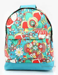 Городской <b>рюкзак Mi-Pac Premium Floral</b> Sixties Floral Multi/Blue ...